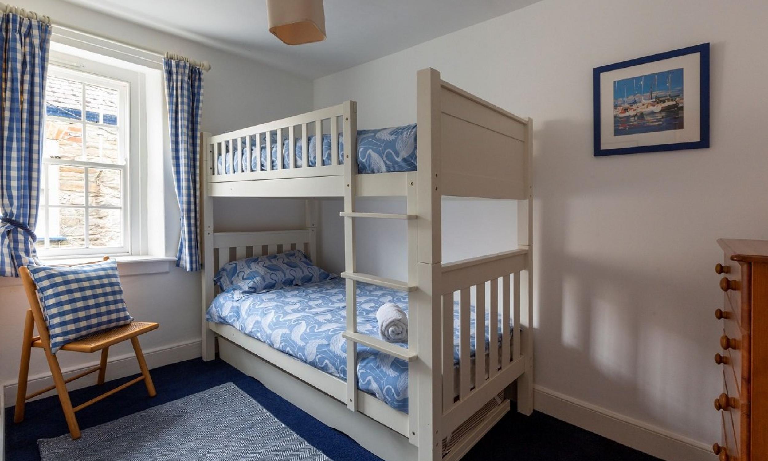 Bedroom Two – fullsize bunk beds