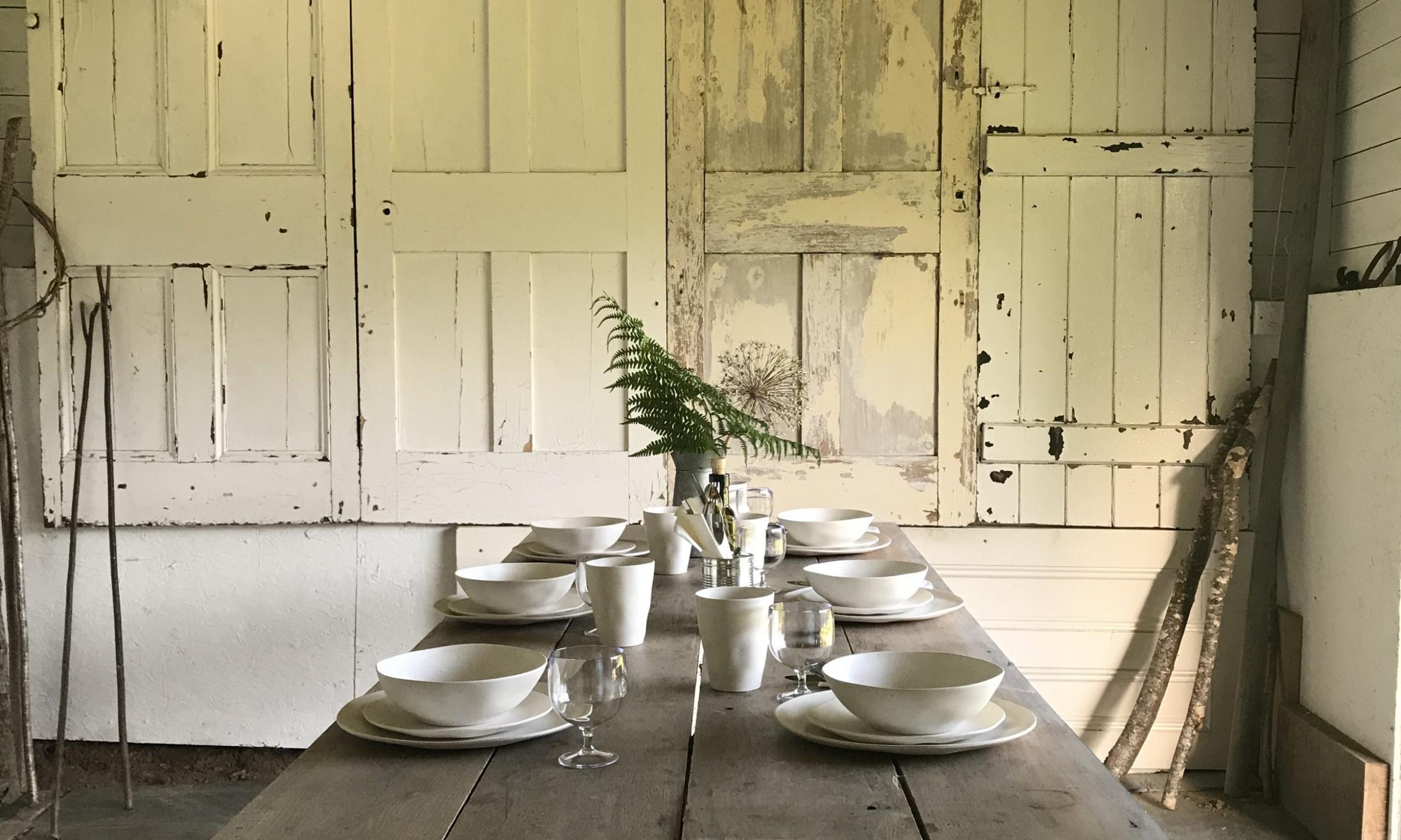 paddock dining devon farmhouse