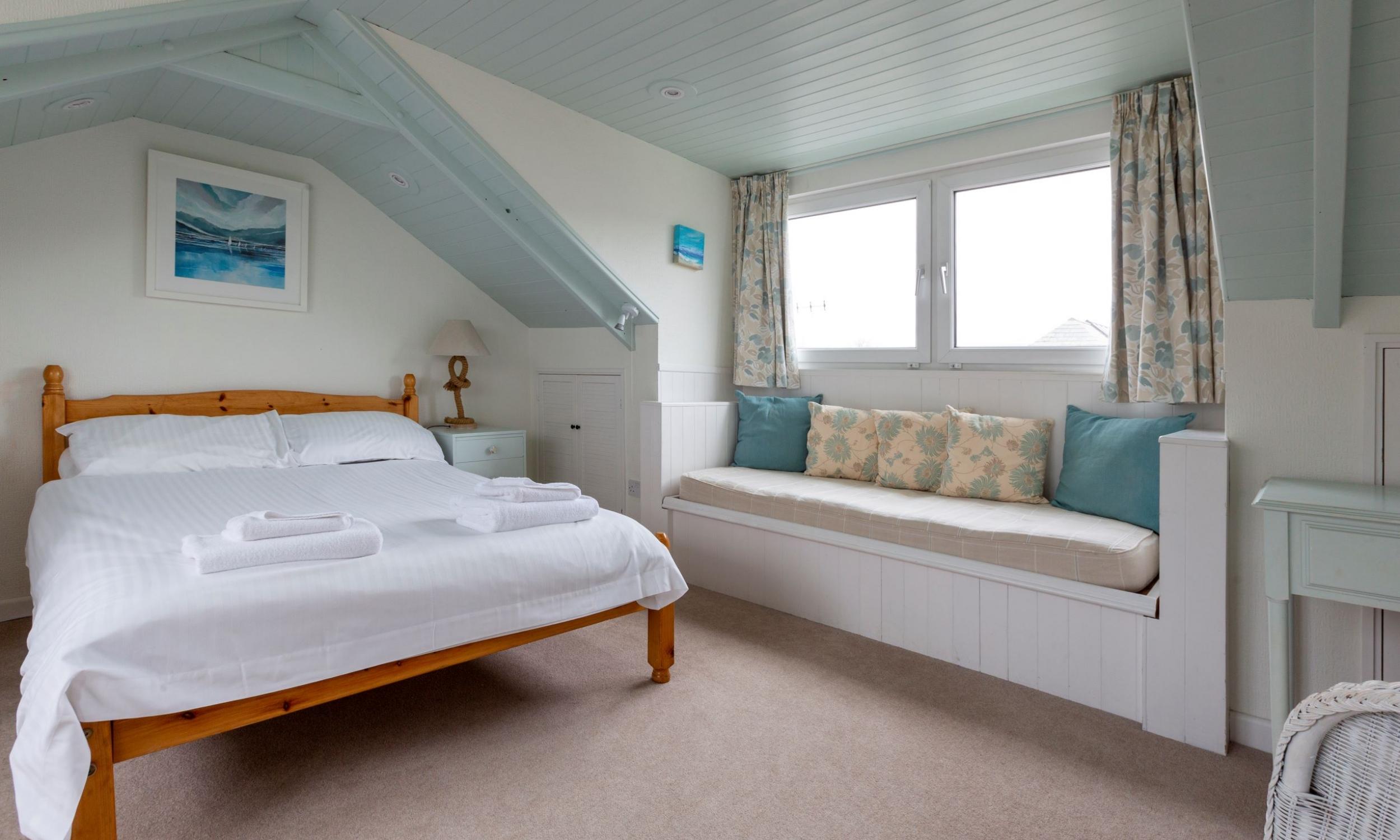top floor double bedroom